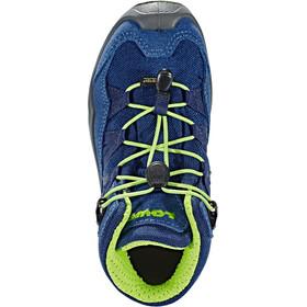 Lowa Robin GTX QC Shoes Kids blue/lime